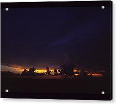 Under Darken Sky Acrylic Print by Bob Whitt
