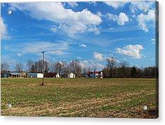 Acrylic Print featuring the photograph Under North Carolina Blue by Bob Whitt