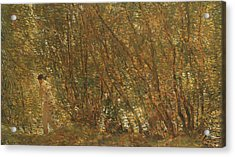 Under The Alders Acrylic Print by Childe Hassam