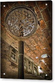 Under The Bridge Acrylic Print by Russell Styles