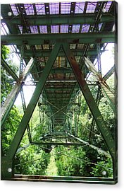 Under The Green Bridge 2 Acrylic Print