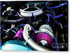 Under The Hood By House Of Kolor Acrylic Print by Anne Kitzman