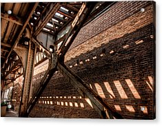 Under The L Tracks Acrylic Print
