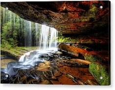 Under The Ledge Acrylic Print