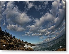 Under The Sky Acrylic Print by Rick Berk