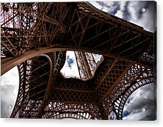 Under The Tower Acrylic Print by Edward Myers
