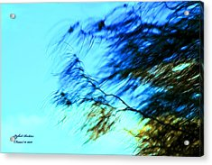 Under The Tree Acrylic Print by Itzhak Richter