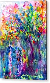 Under The Trees Acrylic Print