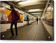 Underground Acrylic Print by Art Ferrier