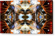 Acrylic Print featuring the photograph Underground Heaven by Sandro Rossi