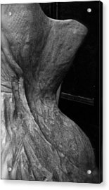 Undressed In Black And White Acrylic Print