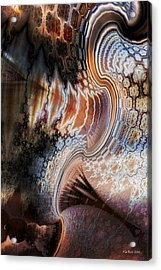 Acrylic Print featuring the digital art Unfolding by Kim Redd