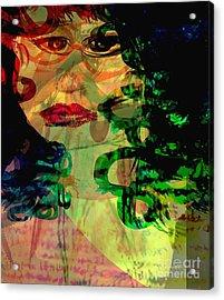 Unfrozen Memories Acrylic Print by Fania Simon