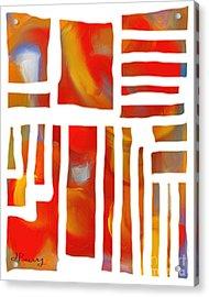 Unglued Acrylic Print