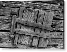Unhinged Acrylic Print by Charles Warren