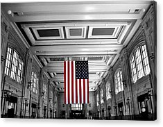 Union Glory Acrylic Print