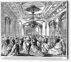 Union League Club, 1868 Acrylic Print by Granger