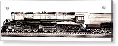 Union Pacific 4-8-8-4 Steam Engine Big Boy 4005 Acrylic Print
