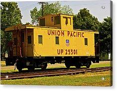 Union Pacific Acrylic Print by Barry Jones