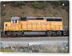 Union Pacific Locomotive . 7d10569 Acrylic Print by Wingsdomain Art and Photography