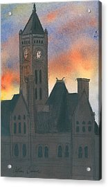 Union Station Acrylic Print by Arthur Barnes