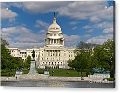 Acrylic Print featuring the photograph United States Capitol by Jim Moore