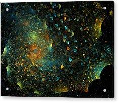 Universal Minds Acrylic Print by Betsy Knapp