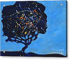 Universial Tree Acrylic Print by Barbara Tibbets