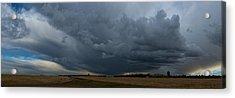 University Farm Panorama Acrylic Print