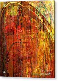 Unmixed Faith Acrylic Print by Fania Simon