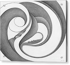 Unnamed Sketch 02 Acrylic Print by Joanna Pregon