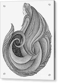 Unnamed Sketch 06 Acrylic Print by Joanna Pregon