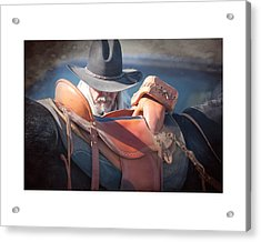 Untacking At The End Of The Day Acrylic Print by Judy Deist