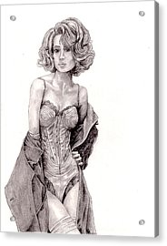 Untitled Acrylic Print by Blake Grigorian