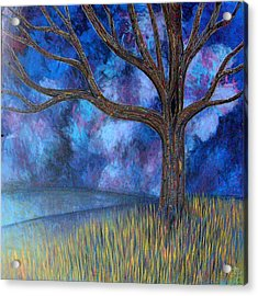 Acrylic Print featuring the painting Untitled Tree 0001 by Monica Furlow