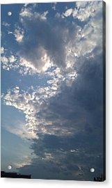 Up And Away Acrylic Print by ClockWork Rockawn