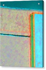 Acrylic Print featuring the digital art Up And Over by Richard Laeton