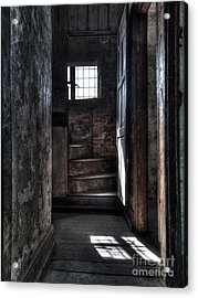 Up The Stairs Acrylic Print by Steev Stamford