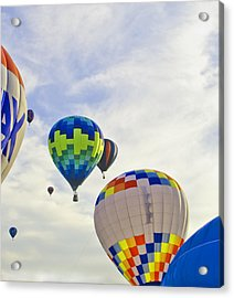 Up Up And Away Acrylic Print by Carolyn Meuer-Pickering of Photopicks Photography and Art