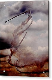 Acrylic Print featuring the photograph Up Up And Away by Charles Dana