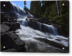 Upper Big Heart Fall Acrylic Print