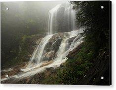 Acrylic Print featuring the photograph Upper Glen Falls by Doug McPherson