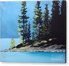 Upper Kananaskis Lake Acrylic Print
