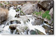 Upper Owens Acrylic Print by Kirk Williams