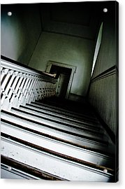 Upstairs Acrylic Print by Jessica Brawley