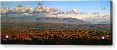 Upstate Ny Panorama Acrylic Print by Terry Cork