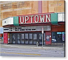 Uptown Theatre Acrylic Print by David Ritsema
