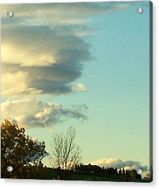 Upward Clouds Acrylic Print