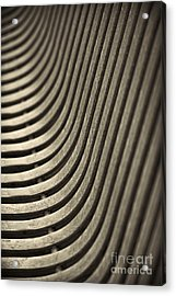 Acrylic Print featuring the photograph Upward Curve. by Clare Bambers