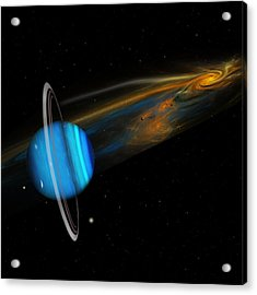 Uranus Acrylic Print